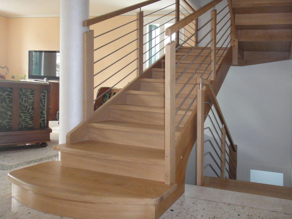 Scaletta In Legno Per Soppalco : Venetocasa scale scala a giorno per interni in legno s