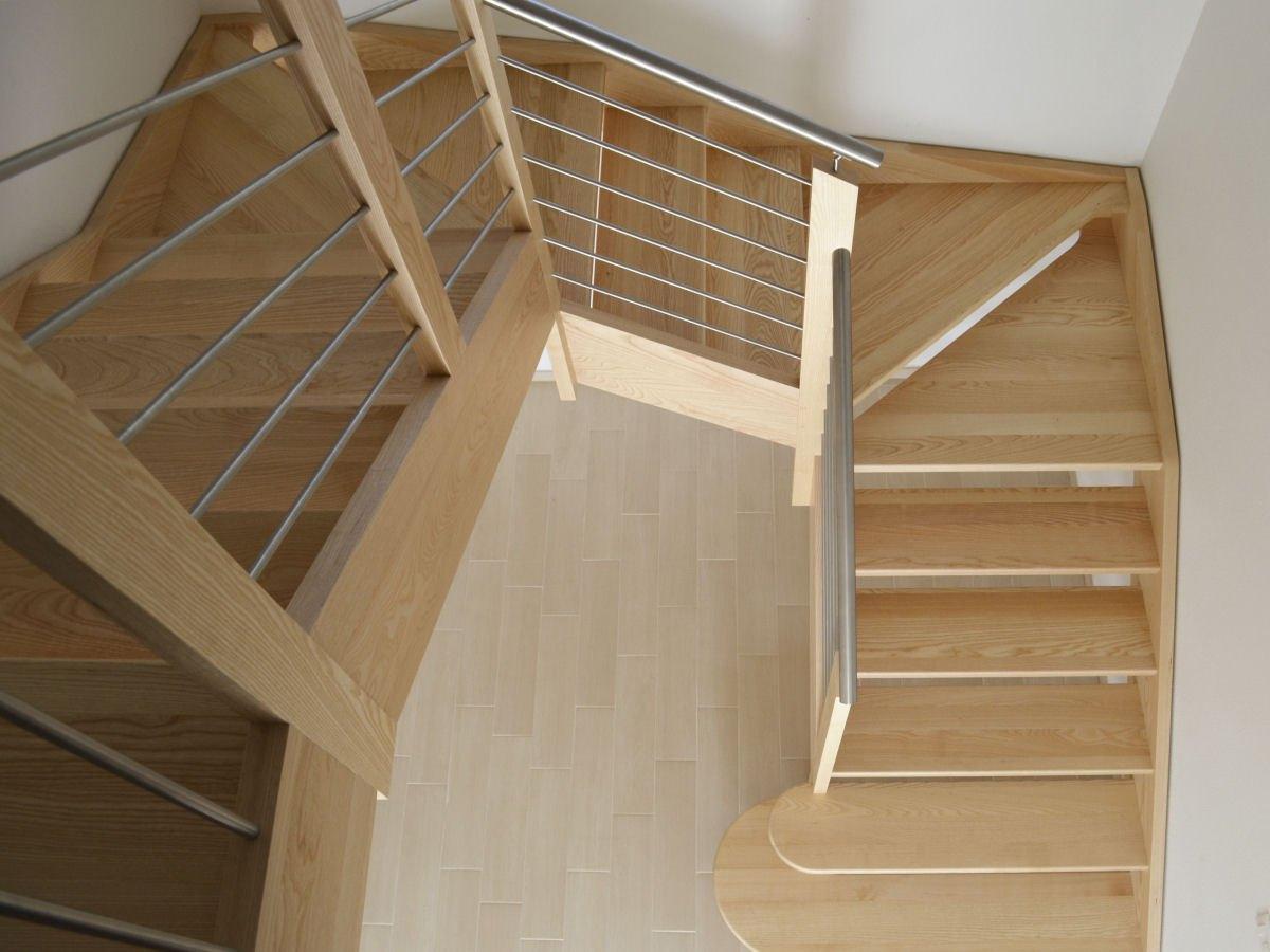 Venetocasa scale scala a giorno per interni in legno s68 - Legno per scale ...